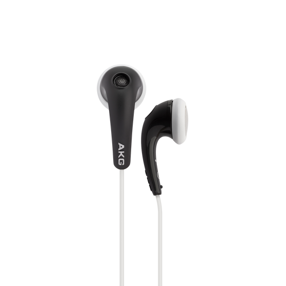 Y 16A - Black - Stereo in-ear headset with microphone and remote - Hero